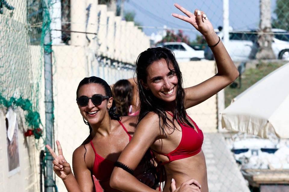 Η αφρόκρεμα του Beach Volley  στο Αντίρριο