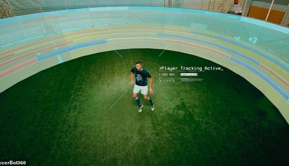 Αδιανόητη εξέλιξη του ποδοσφαίρου με τον προσομοιωτή SoccerBot360 - Οι δυνατότητές του