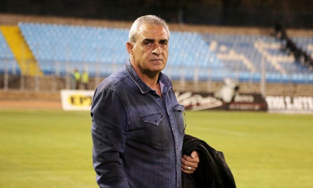 Ο Κουρμπανάς προπονητής και Αλβανός επιθετικός
