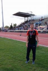 Αργυρό μετάλλιο ο Σαράκης