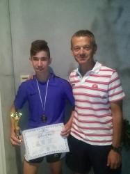 Χρυσό μετάλλιο ο νεαρός Σταμούλης