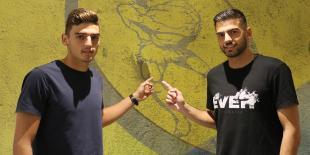 Δύο νεαροί για τα γκολπόστ